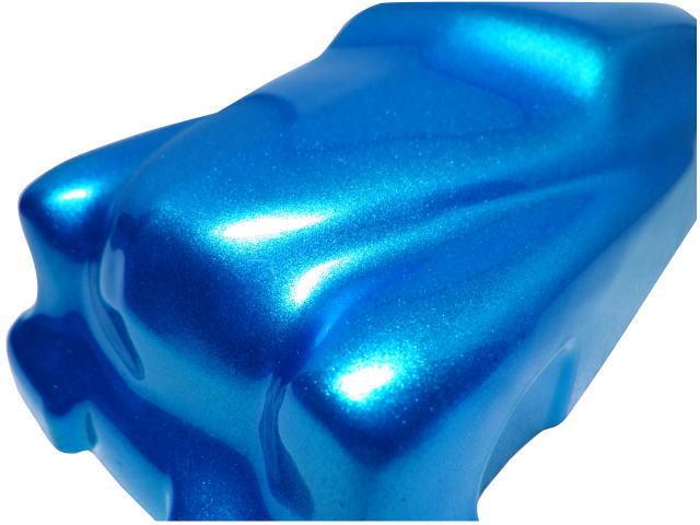 在庫処分★KMキャンディー ロイヤルブルー★耐候性がよく色褪せない 顔料タイプ キャンディー カスタムペイント フレーク ラメ 塗装_画像2