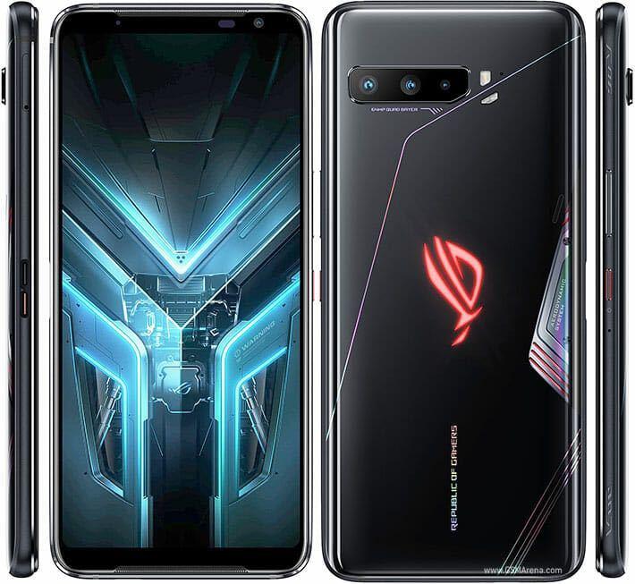 1円スタート!グローバル版 Asus ROG Phone 3 5G対応 12GB+512GB Qualcomm Snapdragon 865plus、144Hz SIMフリー Dual SIM Black