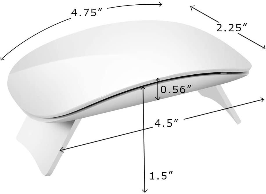 ミニネイルドライヤーポータブルUV LED タイマー機能 硬化ジェルポリッシュ