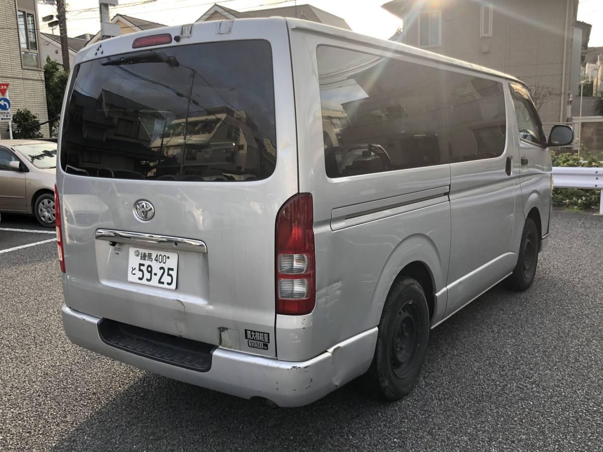 「☆ディーゼル 200系ハイエース 好調 作業車☆」の画像2