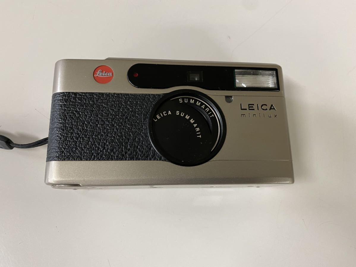 LEICA ライカ minilux/SUMMRIT40mmF2.4 コンパクトフィルムカメラ _画像5
