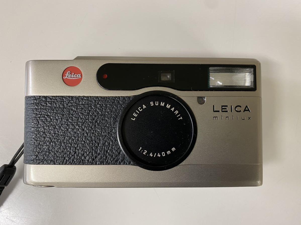 LEICA ライカ minilux/SUMMRIT40mmF2.4 コンパクトフィルムカメラ _画像1
