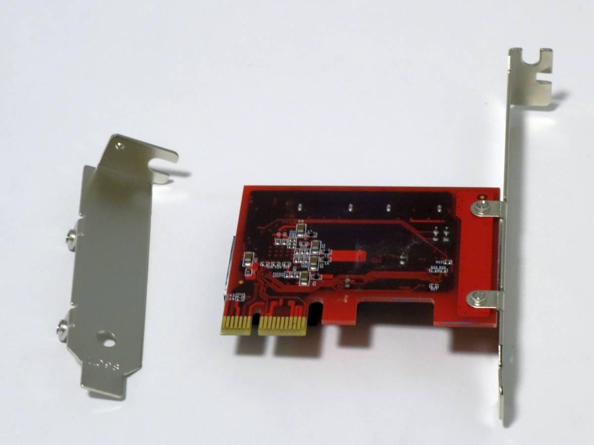 [SATA3/2Port PCI-E接続] 玄人志向 SATA3I2-PCIe ロープロ対応 [Windows7,8,10 32/64bit]_画像3