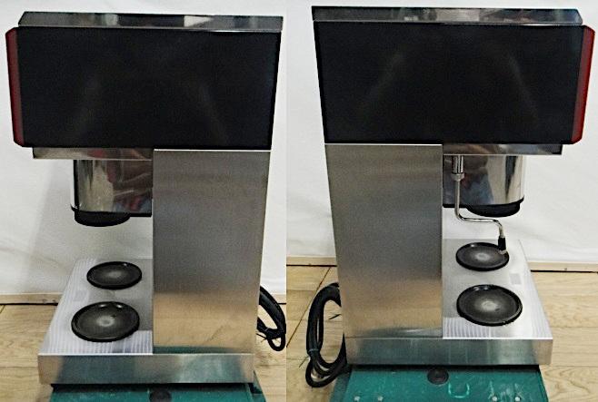 カリタ コンピューターコーヒーマシン HG-125 単相200V 水道直結型 / 業務用 コーヒーメーカー_画像4