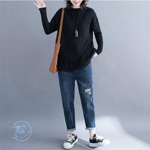 セーター カットソー 長袖カットソー カジュアルセーター レディース韓国風 トップス 長袖セーター ニットソー 20代30代40代 お出かけ 0
