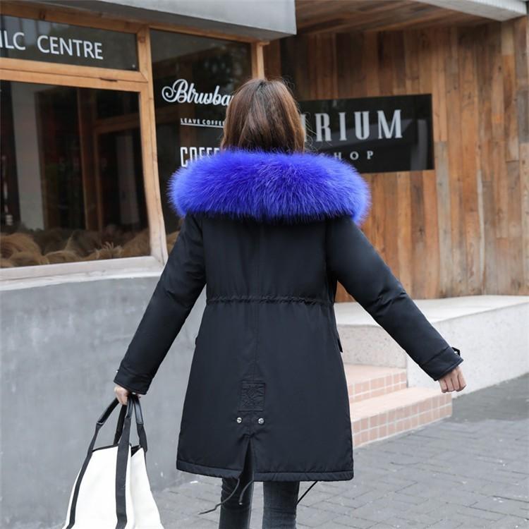 ダウンコート ダウンジャケット モッズコート レディース ファーコート アウター フェイクファー 大きいサイズ フード付き カジュアル