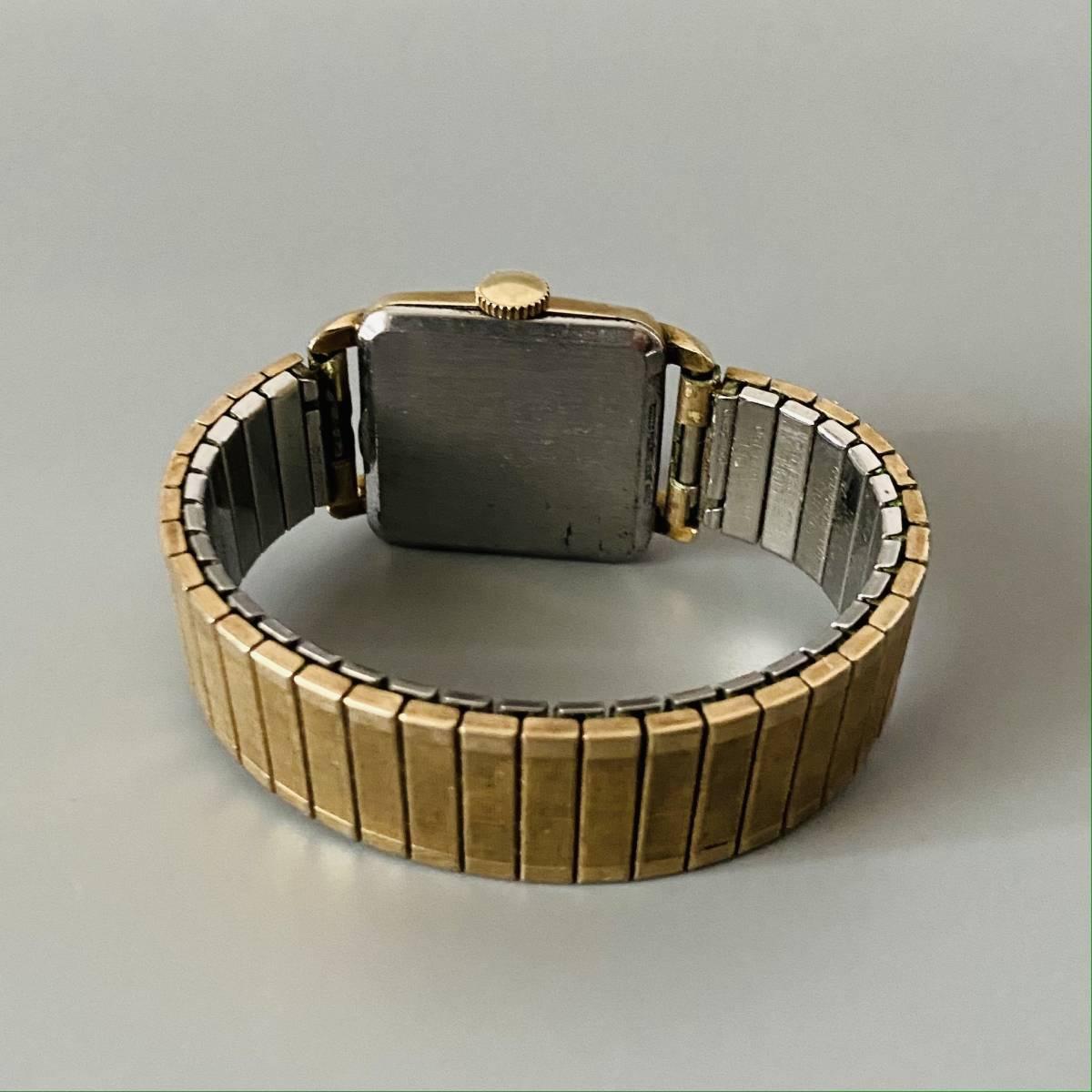 【アンティーク グリュエン】Gruen veri-thin 1940年代 スモセコ cal 425 17石 手巻き メンズ レディース ビンテージ 腕時計 スイス 訳あり_画像7