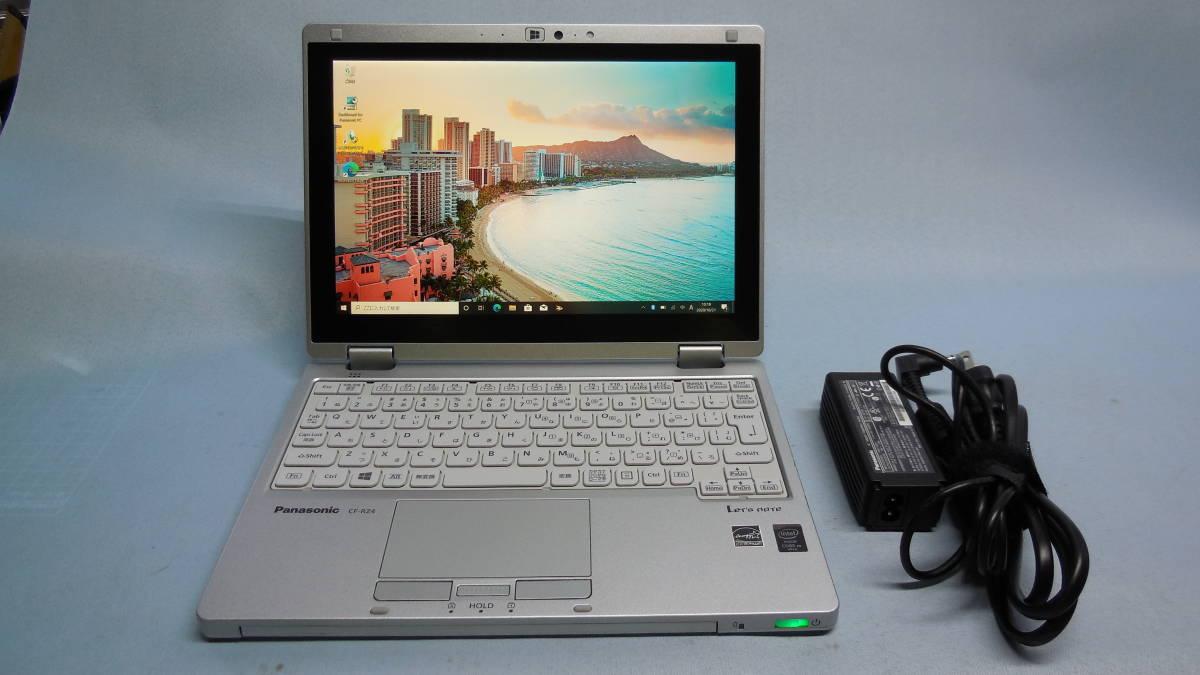 特価 Let's noteタブレットノート CF-RZ4 CF-RZ4ADACS 新品 SSD 500GB(WD製)・Win10Pro64bitリカバリ済