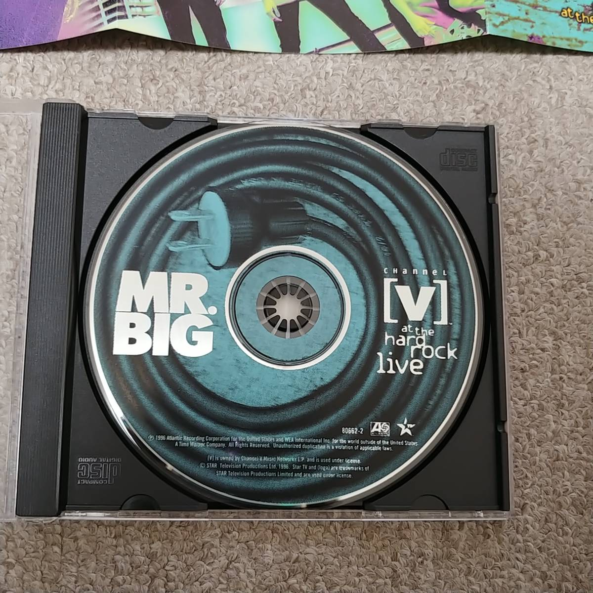 at the hard rock live / Mr.BIG 輸入盤 アット・ザ・ハード・ロック・ライブ/ミスター・ビッグ