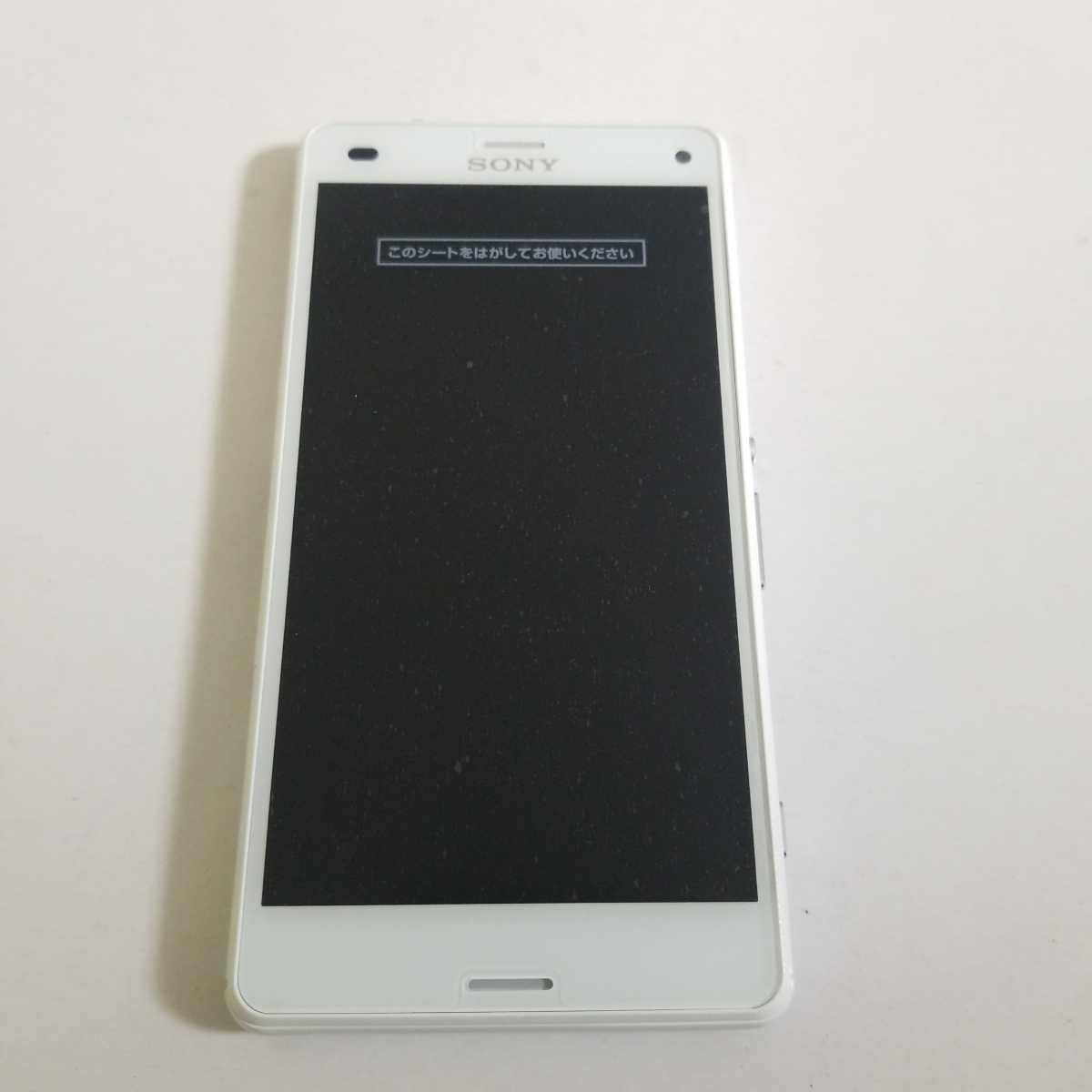 バッテリー新品 SIMフリー ドコモ XPERIA A4 SO-04G ホワイト 利用判定◯ docomo 修理品 SIMロック解除済_画像1