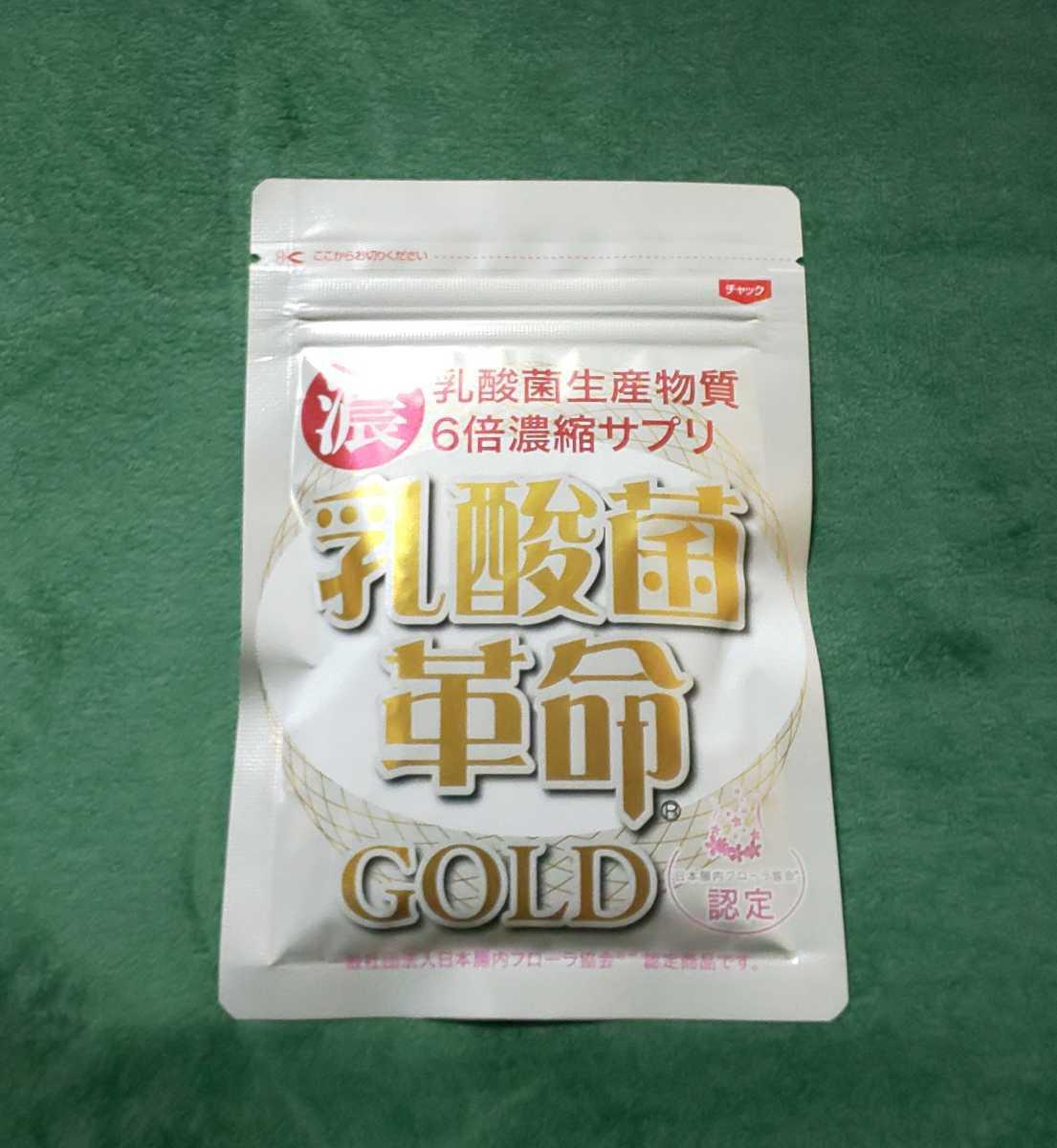 乳酸菌革命 GOLD 1袋62粒入り 新品未開封 送料無料☆_画像1