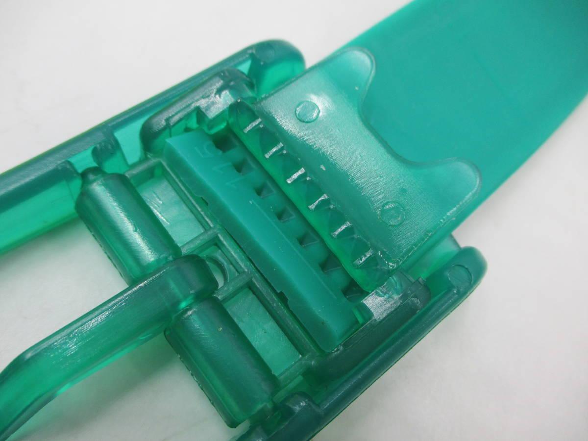 未使用 カスタマイズ シリコン ラバーベルト s ベルト2本+バックル6個を組み合わせて楽しむ 切断可 腰 ゴム カジュアル 差し色 送料無料_容易な手順でバックル交換が可能です。