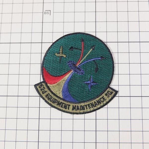 WN11 USAF アメリカ空軍 第52装備整備戦隊 52nd EQUIPMENT MAINTENANCE SQUADRON ミリタリー ワッペン パッチ 部隊章 記章 米軍_画像3