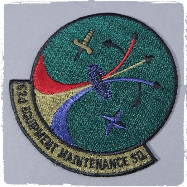 WN11 USAF アメリカ空軍 第52装備整備戦隊 52nd EQUIPMENT MAINTENANCE SQUADRON ミリタリー ワッペン パッチ 部隊章 記章 米軍_画像1