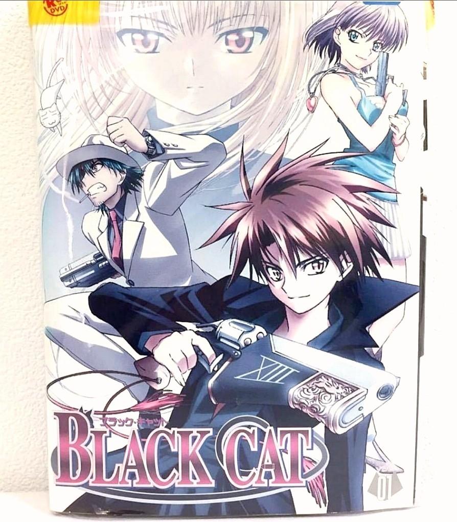 DVD  BLACK CAT  ブラックキャット 全巻セット レンタル落ち