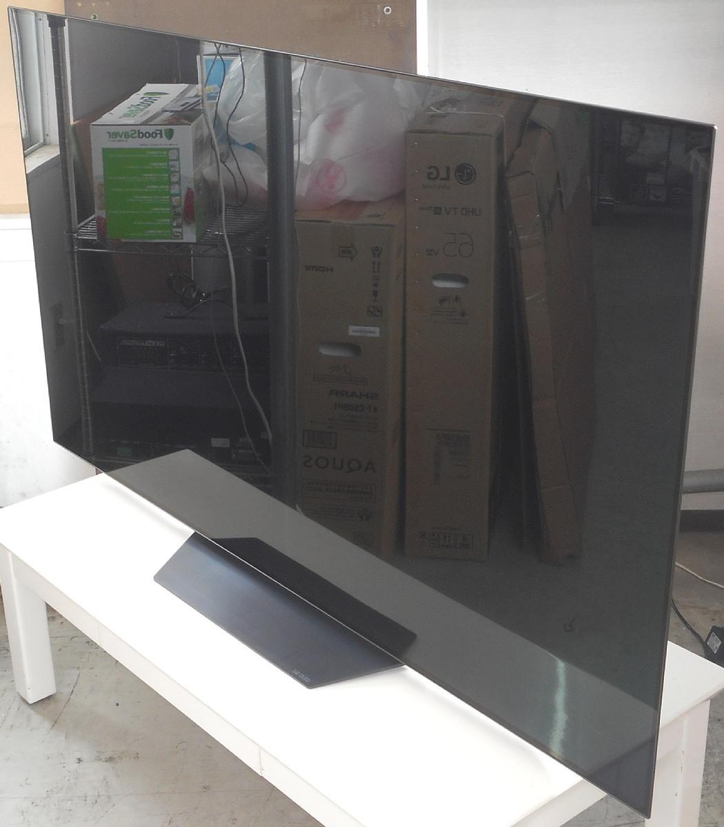 お引き取り限定 展示品 2019年製 65型 4K 有機EL テレビ LG OLED65B9PJA BS/CS 4Kチューナー内蔵 65V型 65インチ OLED_画像3
