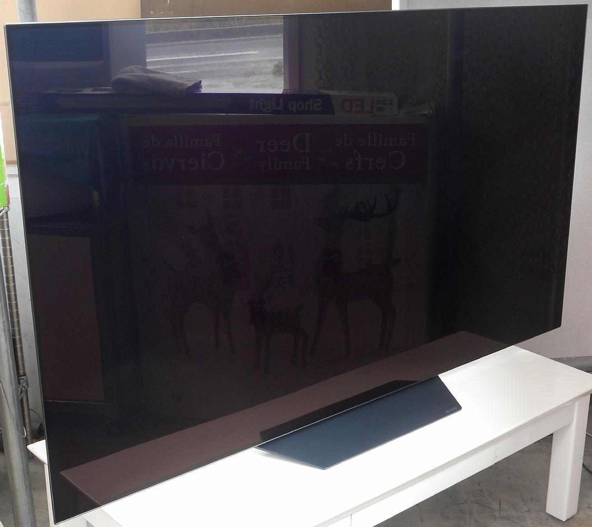 お引き取り限定 展示品 2019年製 65型 4K 有機EL テレビ LG OLED65B9PJA BS/CS 4Kチューナー内蔵 65V型 65インチ OLED_画像2