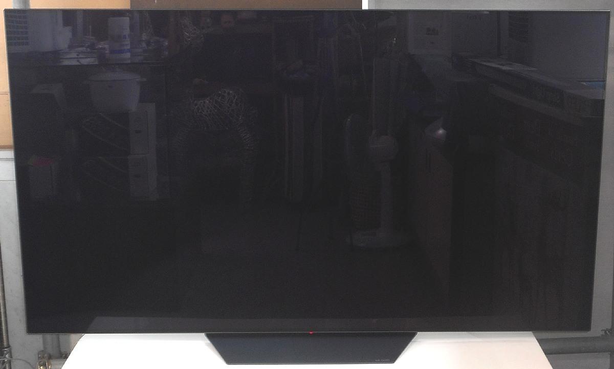 お引き取り限定 展示品 2019年製 65型 4K 有機EL テレビ LG OLED65B9PJA BS/CS 4Kチューナー内蔵 65V型 65インチ OLED_画像1