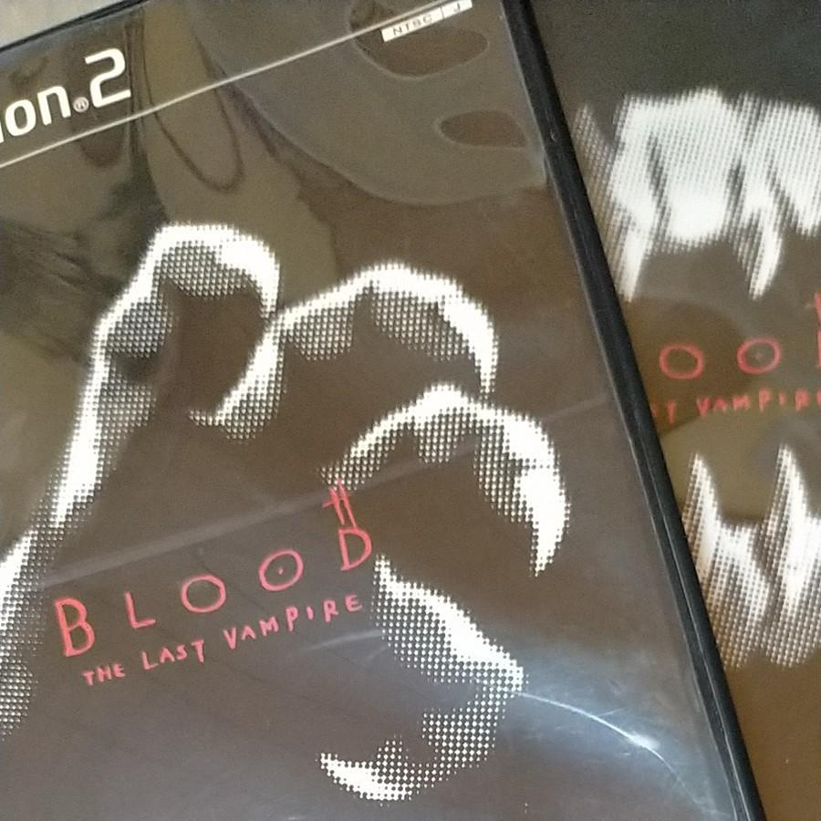 PS2ソフト BLOOD上下巻セット