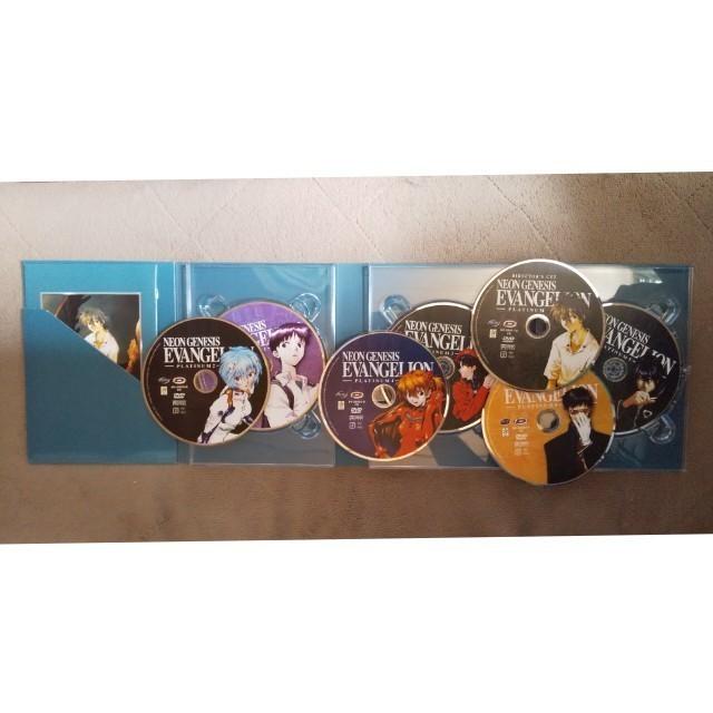 中古輸入盤、新世紀エヴァンゲリオンDVD-BOX、TV版