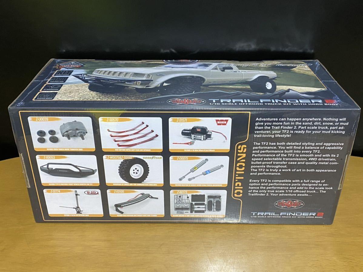 送料無料 新品 RC4WD 1/10 トレイルファインダー2 組み立てキット スケールトラック フルメタルシャーシ 2速ギア 板バネ クローラー
