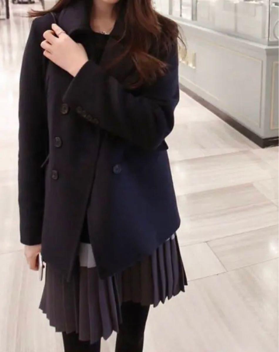ミニワンピース レディース 秋 冬 長袖 韓国 ブラック 黒 オルチャン 配色