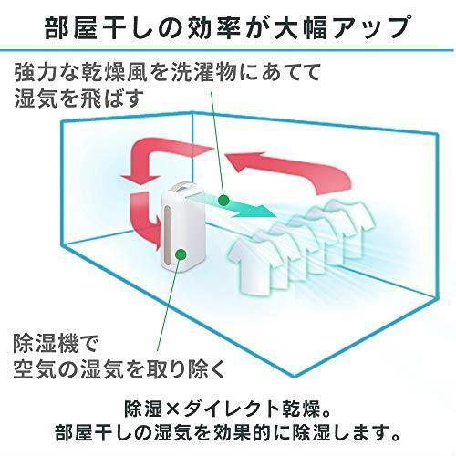 新品未使用 アイリスオーヤマ 衣類乾燥除湿機 強力除湿 タイマー付 オートルーバー 除湿量6.5L コンプレッサー方式 ブルー IJC-H65_画像4