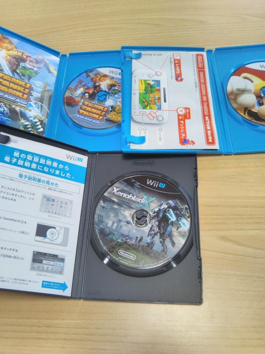 wiiuソフトスーパーマリオ3Dワールド タンクタンクタンク ゼノブレイドクロス
