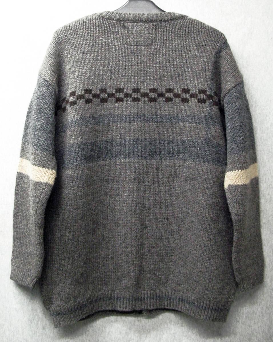 アンダーカバー UNDER COVER:ウール ニット ワイヤー カーディガン ( セーター UNDAKOVRIST UNDER COVER Vintage Wool Knit Cardigan_画像2