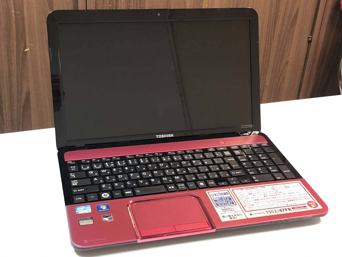 【ジャンク】東芝 dynabook T552/47FR PT55247FBFR /Core i5/ メモリ4GB/ 2012年夏モデル【BIOS表示】