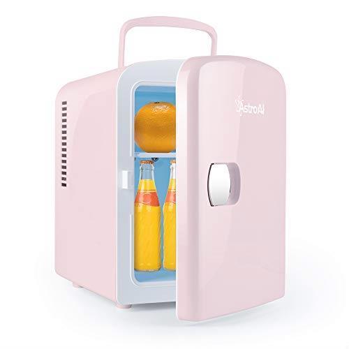 ++人気・送料無料++ AstroAI 冷蔵庫 小型 冷温庫 ミニ冷蔵庫 4L 小型でポータブル 化粧品 家庭 車載両用 保温 保冷 2電源式_画像1