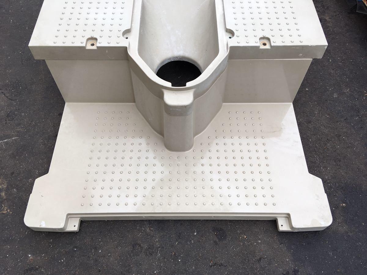 仮設トイレ 部品 簡易トイレ 和式 本水洗 下水道 浄化槽  (検 SNK仮設トイレ_画像3
