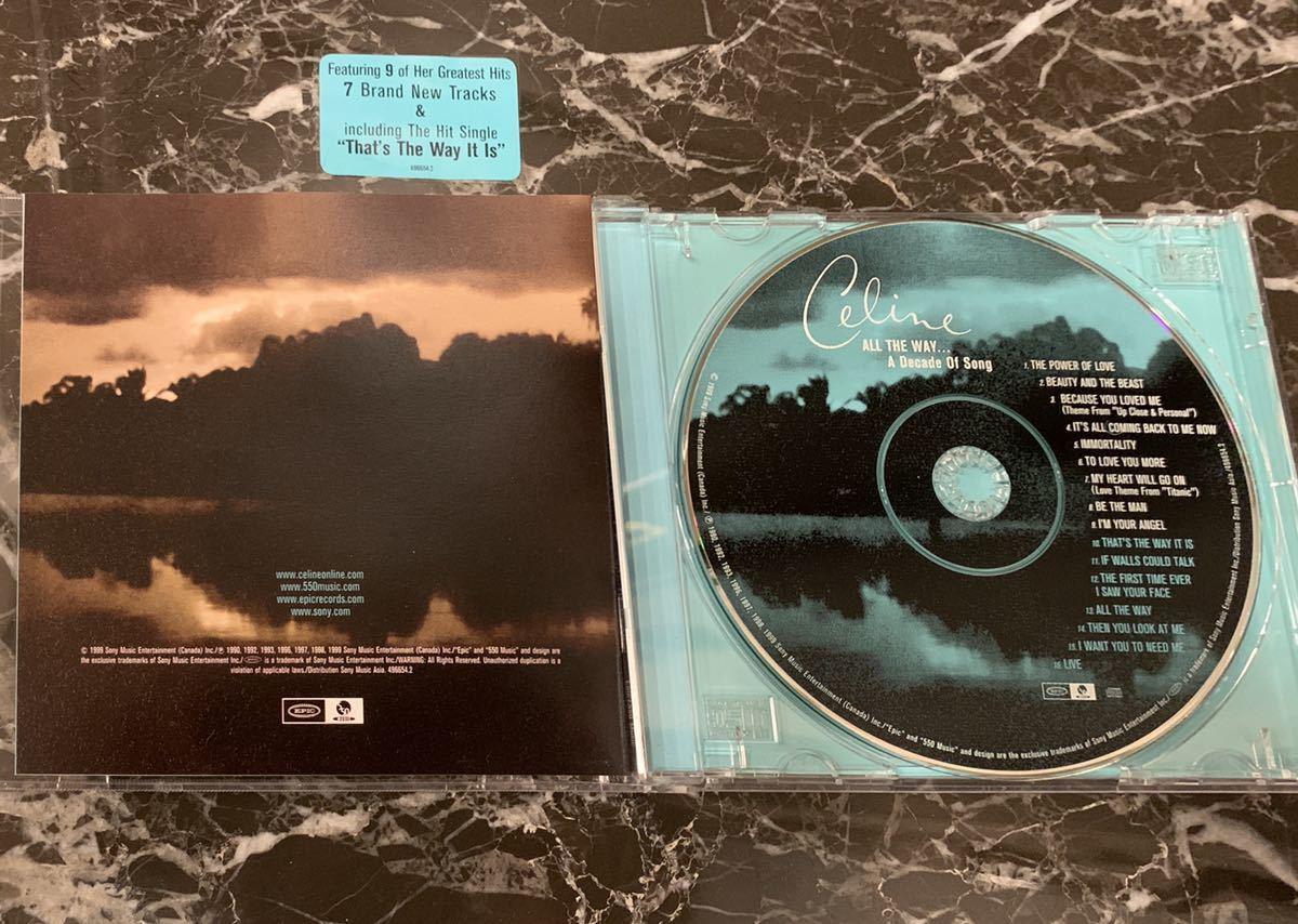 ☆☆☆【送料無料】☆☆☆☆☆ 【セリーヌ・ディオン 】★★★★★【ザ・ベリー・ベスト [CD]】★綺麗目:中古CD ★★★【Great product】