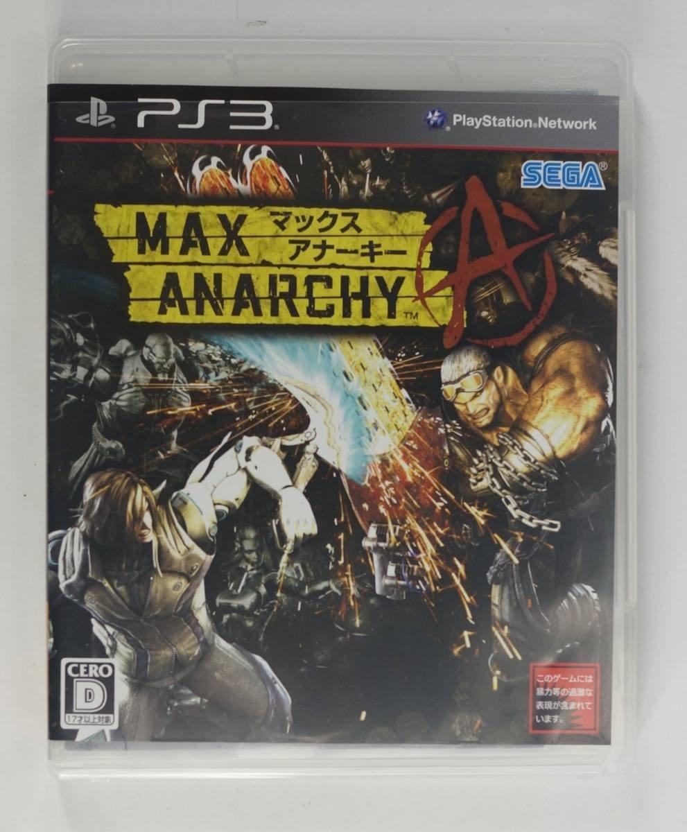 PS3 ゲーム MAX ANARCHY(マックス アナーキー)BLJM-60305_画像1