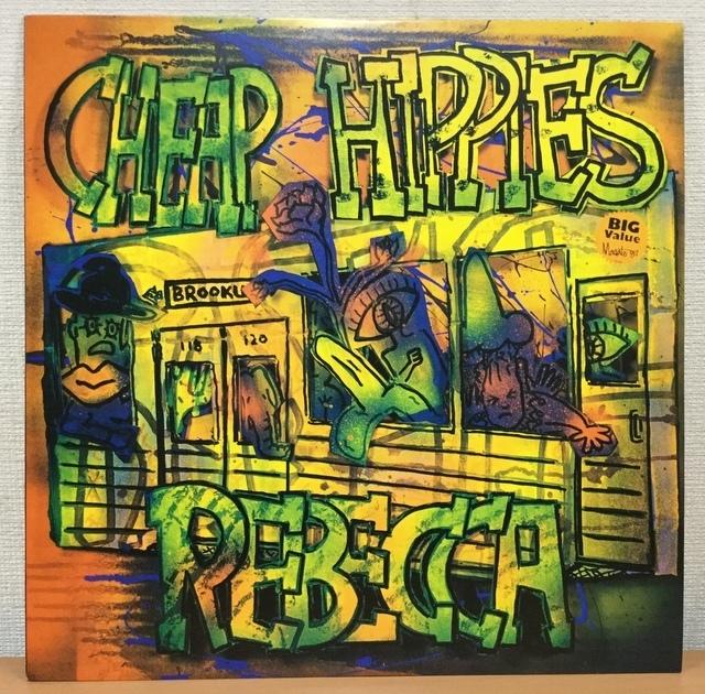 【V133】Rebecca レベッカ/Cheap Hippies/12AH-2150/Fitzbeat-CBSソニー/12inch_画像1