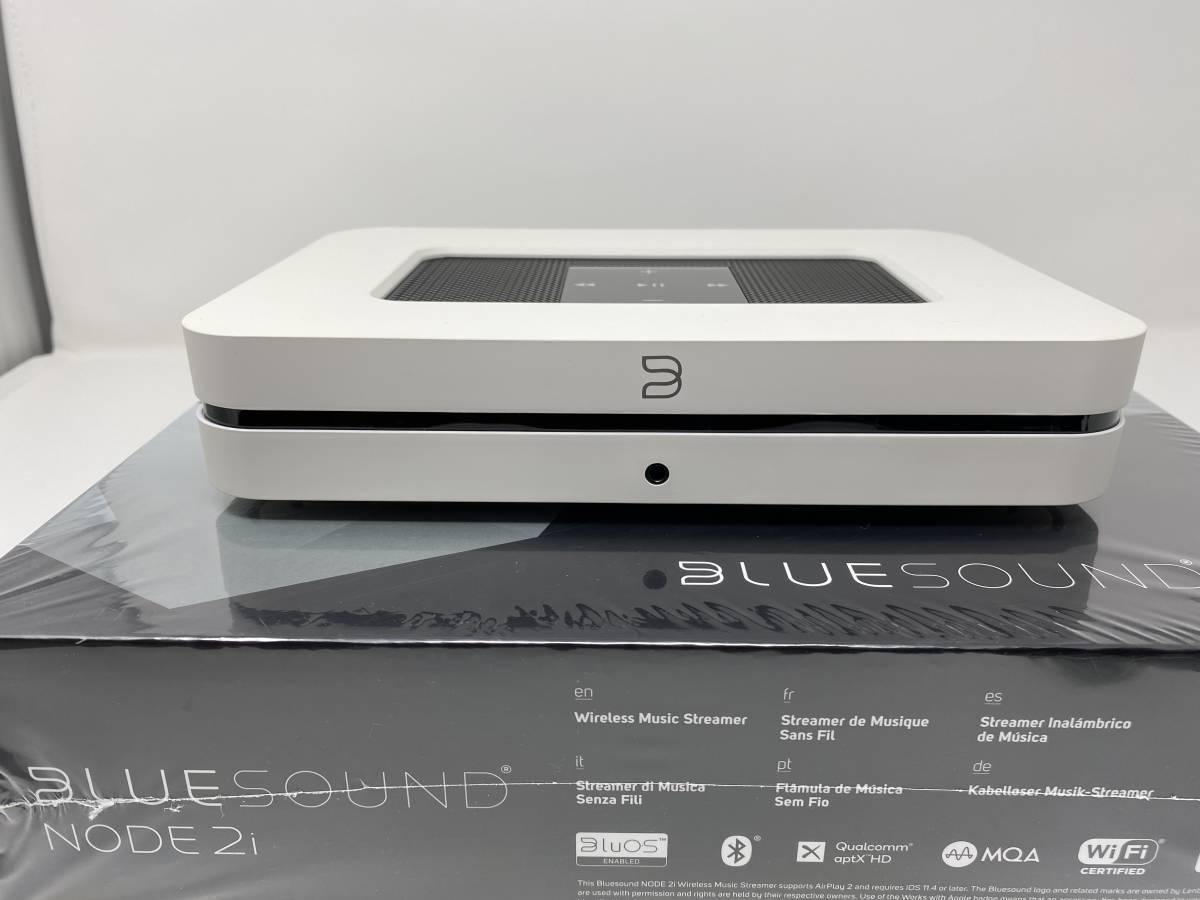 Bluesound ブルーサウンド NODE 2i ホワイト 国内品 中古美品 送料込み_画像1