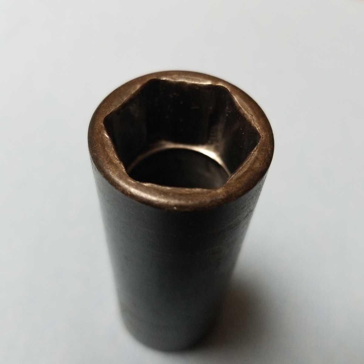 3/8 ディープ 19mm スナップオン インパクト ソケット SIMFML19 中古品 保管品 SNAP-ON SNAPON ディープソケット ソケットレンチ 旧ロゴ 6P_画像4
