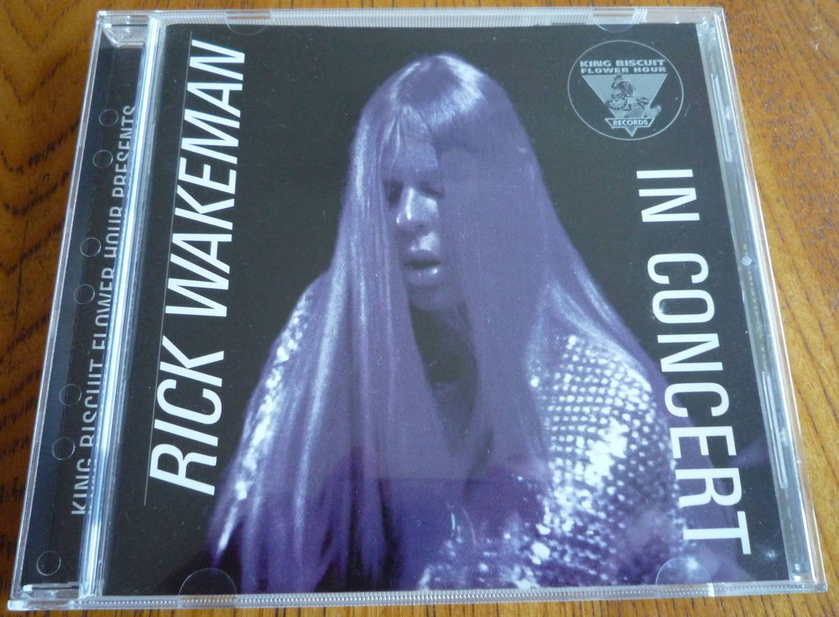 ■【CD/美品】 RICK WAKEMAN - KING BISCUIT FLOWER HOUR PRESENTS IN CONCERT リック・ウェイクマン