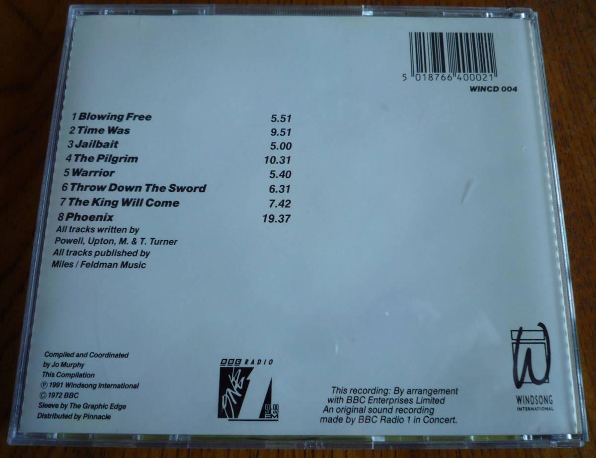 ■【美品CD】 WISHBONE ASH - BBC RADIO 1 LIVE IN CONCERT  ウィッシュボーン・アッシュ