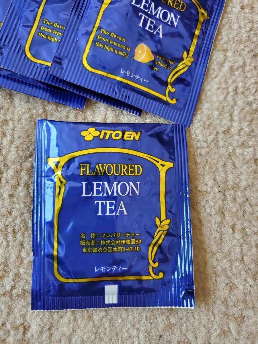 紅茶 Tパック 伊藤園 レモンティー フレバリーティー 30個