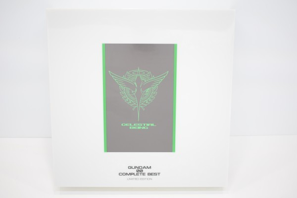 動確 完全生産限定盤 機動戦士 ガンダム 00 ダブルオー COMPLETE BEST 初回限定 コンプリート ベスト OO ブルーレイ Blu-ray BD CD C-668Y_画像7