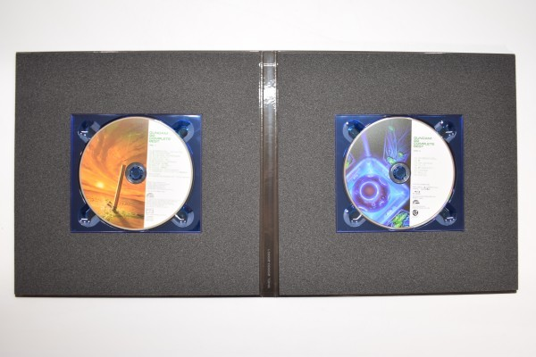 動確 完全生産限定盤 機動戦士 ガンダム 00 ダブルオー COMPLETE BEST 初回限定 コンプリート ベスト OO ブルーレイ Blu-ray BD CD C-668Y_画像3
