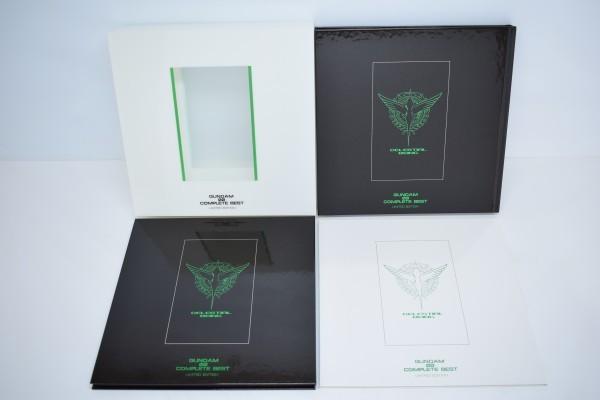 動確 完全生産限定盤 機動戦士 ガンダム 00 ダブルオー COMPLETE BEST 初回限定 コンプリート ベスト OO ブルーレイ Blu-ray BD CD C-668Y_画像2