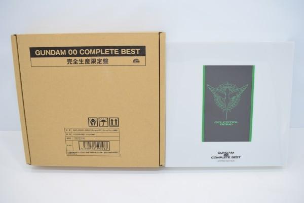 動確 完全生産限定盤 機動戦士 ガンダム 00 ダブルオー COMPLETE BEST 初回限定 コンプリート ベスト OO ブルーレイ Blu-ray BD CD C-668Y_画像1