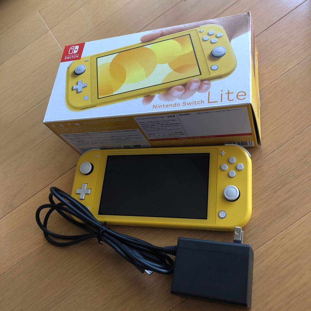 Nintendo Switch lite イエロー 本体