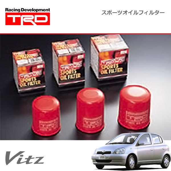 TRD スポーツオイルフィルター ヴィッツ SCP10 NCP10 NCP13 NCP15 99/01~05/02