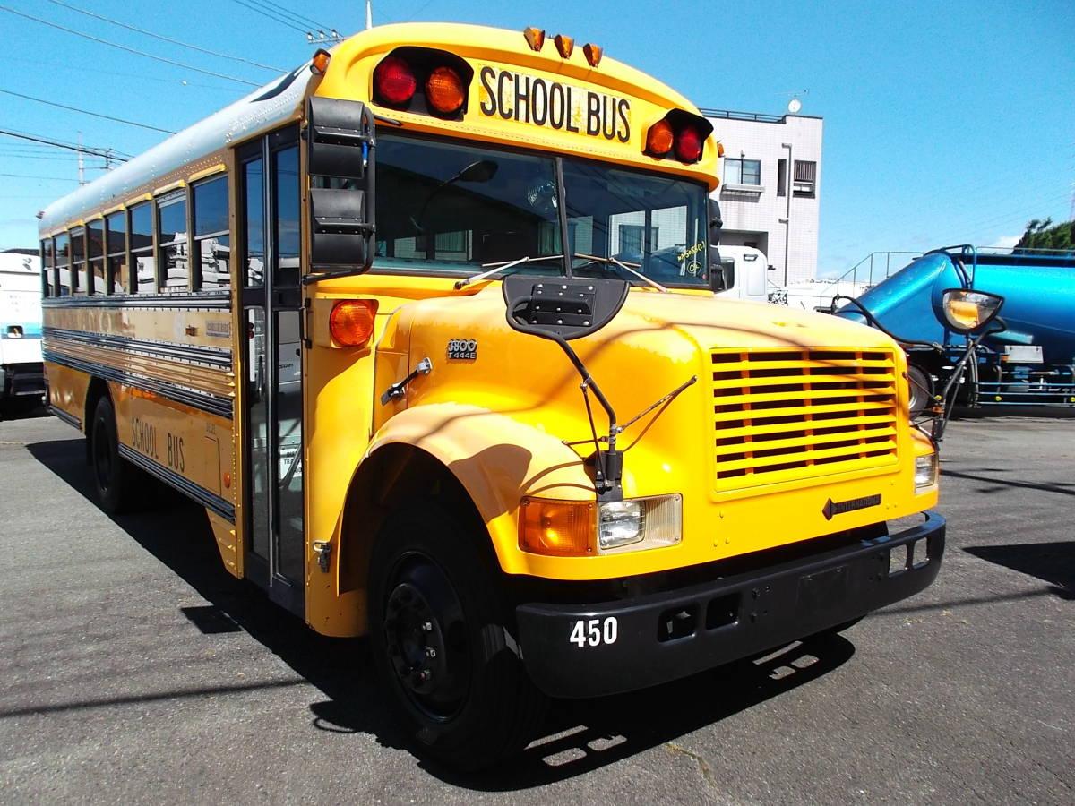「★2000年インターナショナル USA アメリカンスクールバス ボンネッバス 希少車 」の画像2
