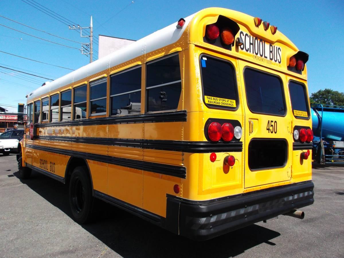 「★2000年インターナショナル USA アメリカンスクールバス ボンネッバス 希少車 」の画像3