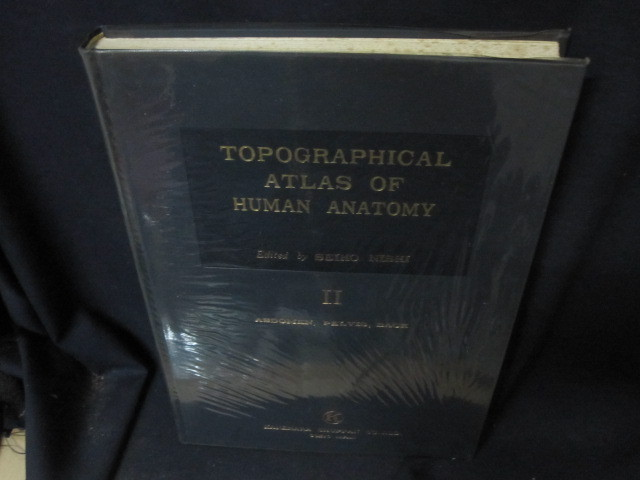 TOPOGRAPHICAL ATLAS OF HUMAN ANATOMY Ⅱ 箱無シミ押印有/BFZL