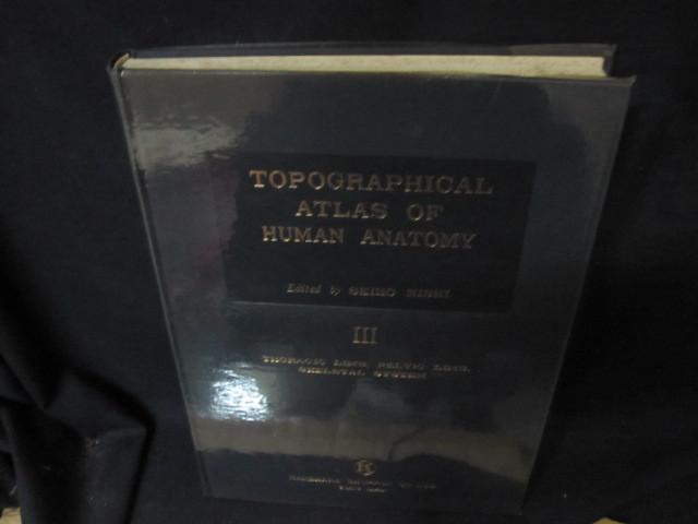 TOPOGRAPHICAL ATLAS OF HUMAN ANATOMY Ⅲ 箱無シミ押印有/BFZL